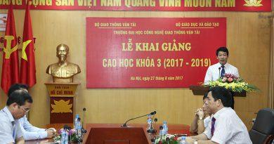 Khai giảng Cao học Khóa 3 (2017 – 2019)