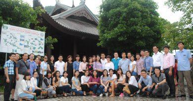 Chuyến đi thực tế tham quan Di sản văn hóa và thiên nhiên Thế giới Tràng An của Đoàn cán bộ, giảng viên và học viên cao học K3